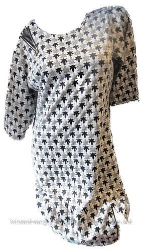 Женское батальное платье сахара
