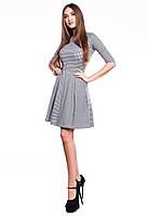 Платье в мелкую клеточку Адель