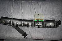 Патронташ закрытый кожа-спилок на 12 калибр