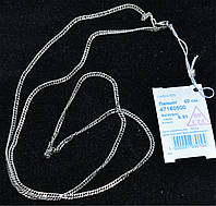 Серебряная цепь ромб  925 пробы с чернением , дл. 60  см