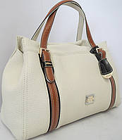 Женская сумка с коричневыми ремешками  Velina Fabbiano