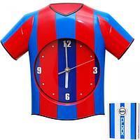 Часы настенный Детские Футбольная форма кварц.пластик