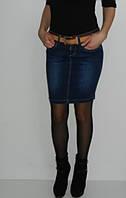 Джинсовая юбка зауженная супер качество R.marks размер 25 26 28 29 30
