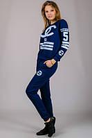 Женский спортивный костюм Chanel №5 (джинс)