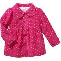 Фирменное демисезонное пальто для девочки на 1-2 года