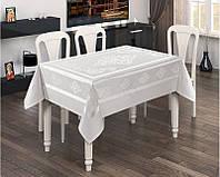 Скатерти на прямоугольный стол белого цвета   Tabe Condmentum