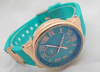Женские часы - Ulysse Nardin - Le Locle голубые, цвет корпуса золото