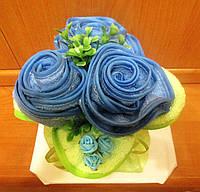 Необычный подарок женщине - Букет роз из салфеток