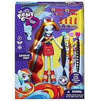 """Игровой набор """"Сделай мне прическу"""" с куклой Rainbow Dash, My Little Pony Equestria Girls (Девочки Эквестрии)"""