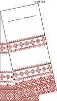Рушник свадебный ЮМА СР 18, схема для бисера
