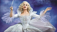 Красивое карнавальное платье Золушки или Феи с 3 до 9лет из США