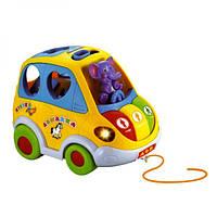 Интерактивная машинка Автошка 9198 - игрушка сортер