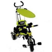 Детский трехколесный велосипед с ручкой Combi Trike BT-CT-0012. Цвета разные.