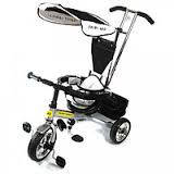 Детский велосипед трехколесный СЕРЫЙ (Стальной) lexus combi trike BT-CT-0001
