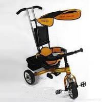 Детский велосипед трехколесный ЖЕЛТЫЙ (Золотой) lexus combi trike BT-CT-0001