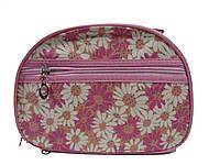 Косметичка женская CR25 3шт., (текстиль), Розовый