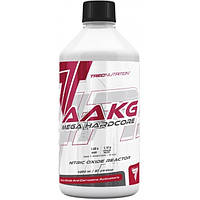 Оксид азота, AAKG TREC nutrition AAKG mega hardcore 1000 ml sweet orange