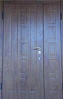 """Входная металлическая полуторная дверь в Одессе """"Портала"""" (Комфорт) ― модель Квадро"""