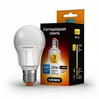 Светодиодная LED лампа  VIDEX A60е 7W E27 4100K 220V  (VL-A60-07274)