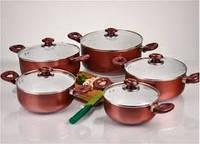 Набор посуды HILTON FP 2461 керамика, желтый, 10предметов