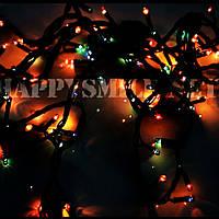 Гирлянда новогодняя, разноцветная, 140 лампочек
