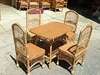 Плетеная мебель из лозы, в украинском стиле