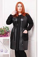 Женское легкое пальто Монро (размер 52)
