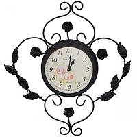 Часы настенные Пражский узор метал. (33,5*5*36см)