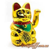 """Статуэтка """"Кот махающий лапой - Манэки-нэко"""", 12,5 см"""
