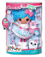 Кукла Lalaloopsy Super Silly Party кукла Снежинка 33см