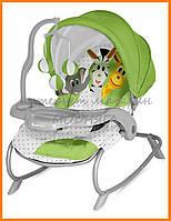 Шезлонг для малышей с релаксирующим эффектом