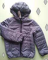Детская куртка-ветровка для мальчика (демисезон), р.122