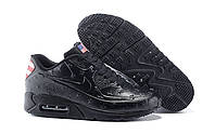 "Кроссовки Nike Air Max 90 Independence Day ""Black"" - ""Черные"""