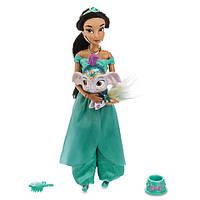Классическая кукла принцесса Жасмин Дисней с королевским питомцем Disney