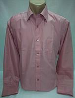 Рубашка классика розовая р. 39, 40