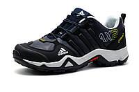 Кроссовки мужские Adidas Terrex AX2, темно-синие, кожа, р. 43, фото 1