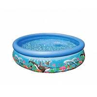 Intex 54904 (28134) (366х76 см.) Надувной бассейн Intex Ocean Easy Set Pool