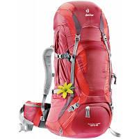 Рюкзак туристичний Deuter Futura Vario 45+10 SL cranberry-fire (34304 5560) для пішого та гірського