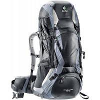 Рюкзак туристичний Deuter Futura Vario 50+10 black-titan (34314 7490) для пішого та гірського туризм