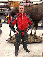 Костюм для зимней рыбалки JahtiJakt Red/Grey overall