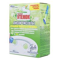 Туалетный утенок Диски чистоты Цитрусовый бриз 6шт