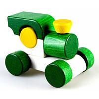 Руди Игрушка Паровозик - Малыш Зеленый