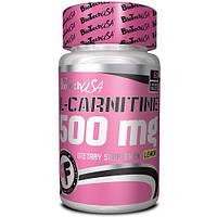 Жиросжигатель L-Carnitine 500 mg BioTech (60 tabs) (жевательные таблетки)