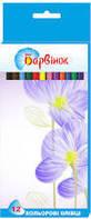 Карандаши цветные Барвинок 12 цветов