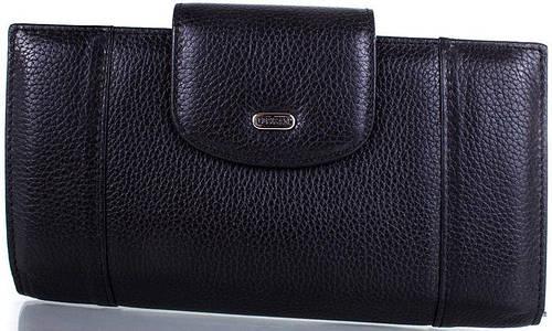 Надежный  женский кожаный кошелек  DESISAN (ДЕСИСАН) SHI212-2 (черный)