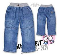 Детские джинсы на флисе KK-RABBIT (модель 2)