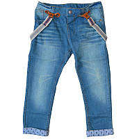 Детские джинсы Denim с подтяжками