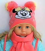 Микки Маус, Девочка. 2 слоя, внутри х/б. р.40-44 и 46-50