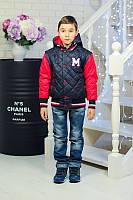 Спортивная куртка со съемными рукавами и капюшоном 122 - 140см МАРС