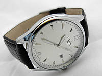 Мужские часы  TISSOT 1853 - кварцевые, корпус и циферблат серебристый